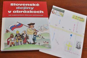 kniha Slovenské dejiny v obrázkoch. komiksové dejiny Slovenska