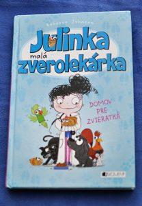 februárové čítanie Julinka malá zverolekárka