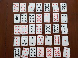 matematické hry s kartami