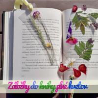 Záložky do knihy plné kvetov