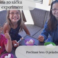 Zmrzlina zo sáčku. Prečítané leto: O prázdninách (1.týždeň)