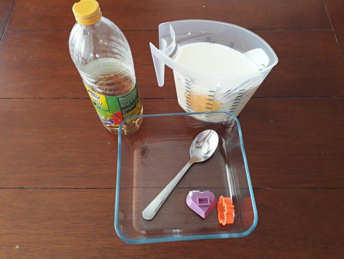 mlieko ocot plast