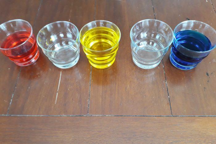 pokusy s vodou