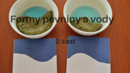 Formy pevniny a vody. 2. časť
