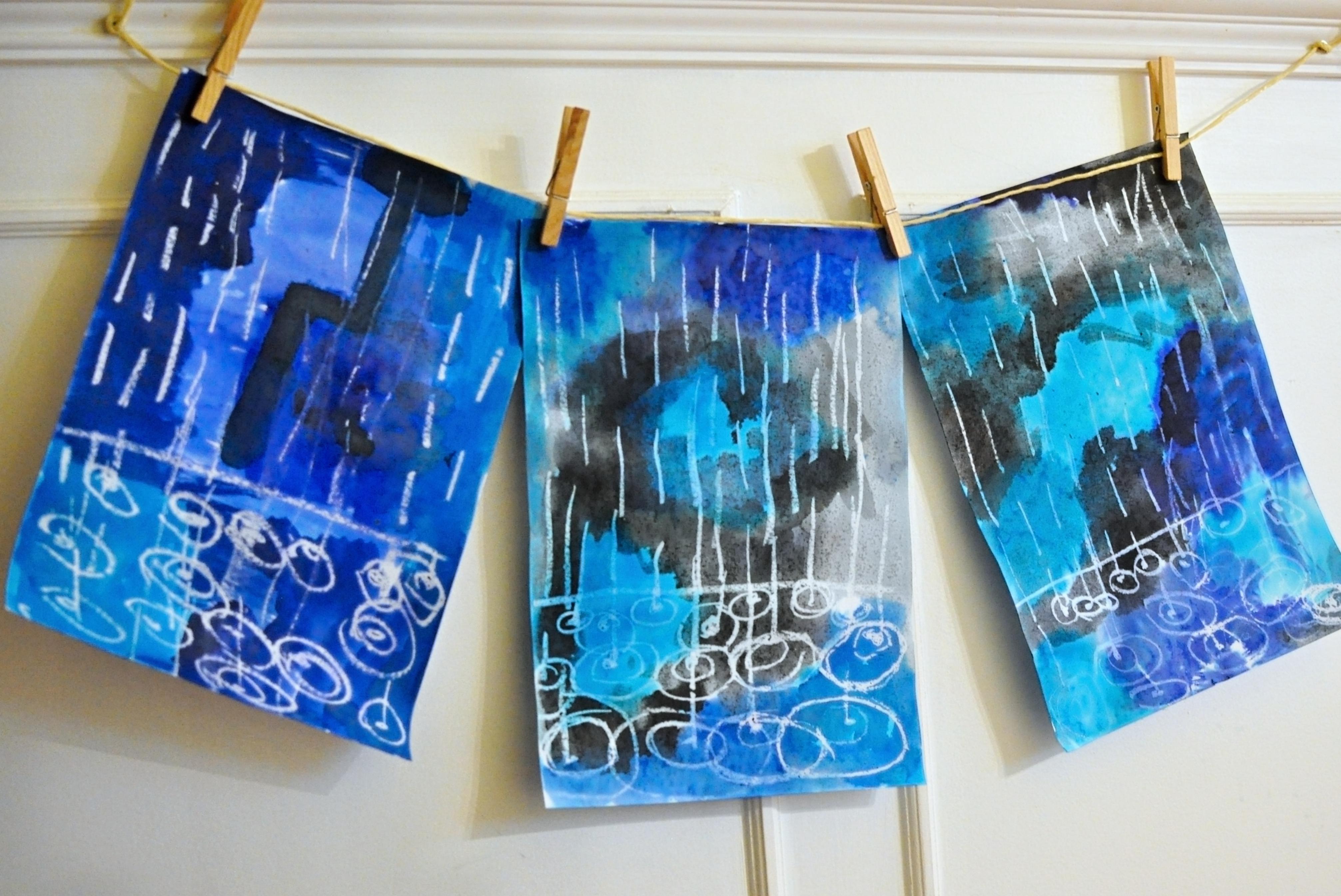 maľovaný dážď