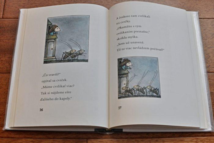 októbrové čítanie Myšacia polievka