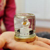 Snežítko v poháriku