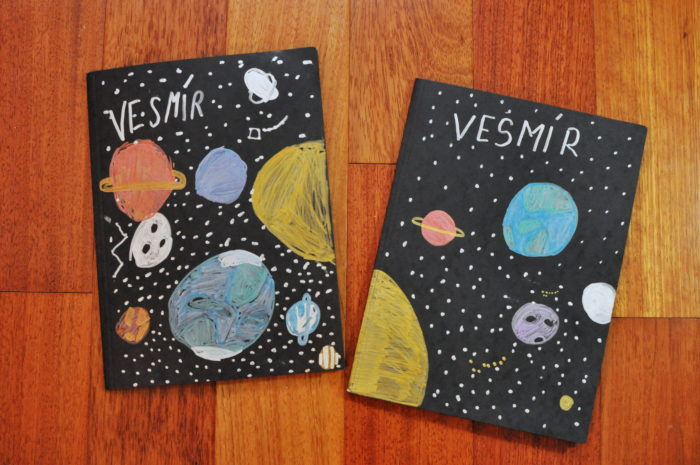 lapbook vesmír