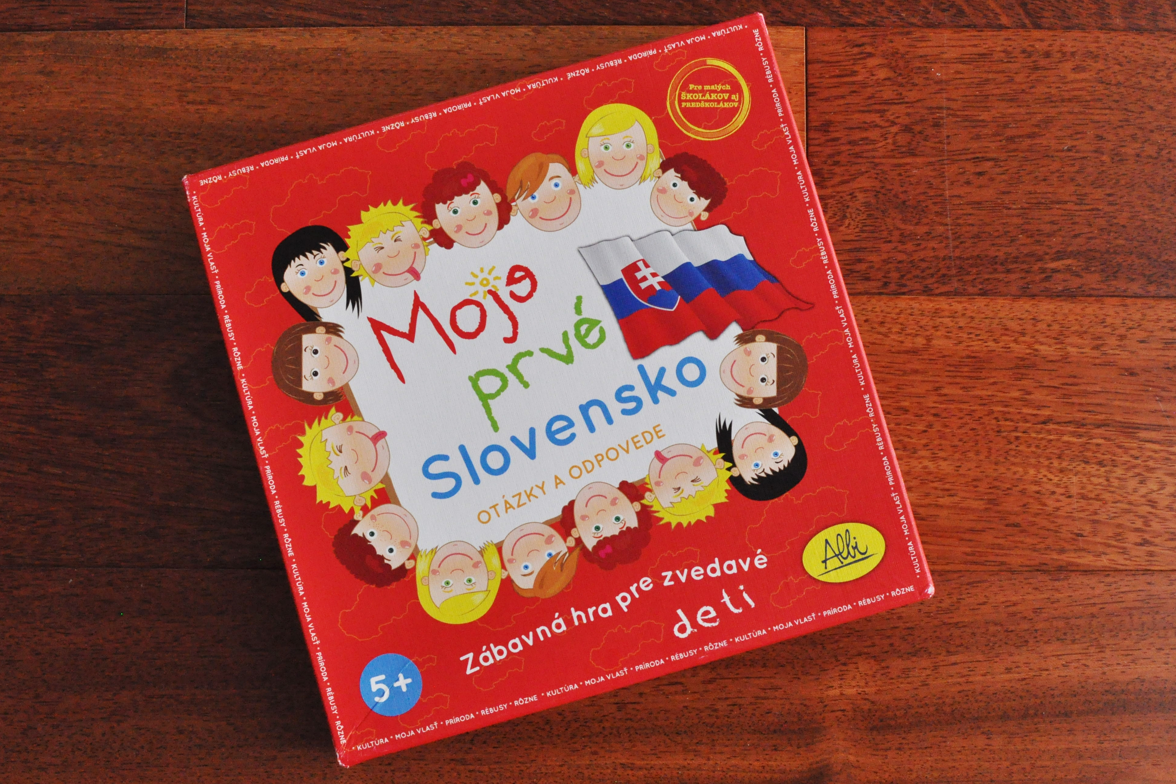 Moje prvé Slovensko. Spoločenská hra