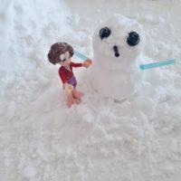 Falošný sneh len z dvoch ingrediencii