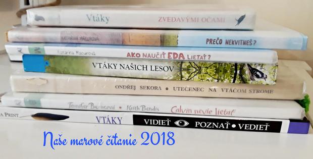 Naše marcové čítanie (2018)