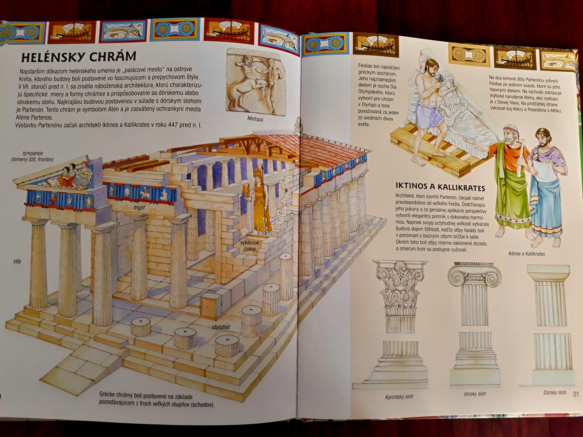 Ako sme sa hrali na architektov a skúmali okrúhle stĺpy
