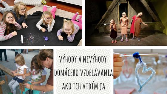 Výhody a nevýhody domáceho vzdelávania ako ich vidím ja