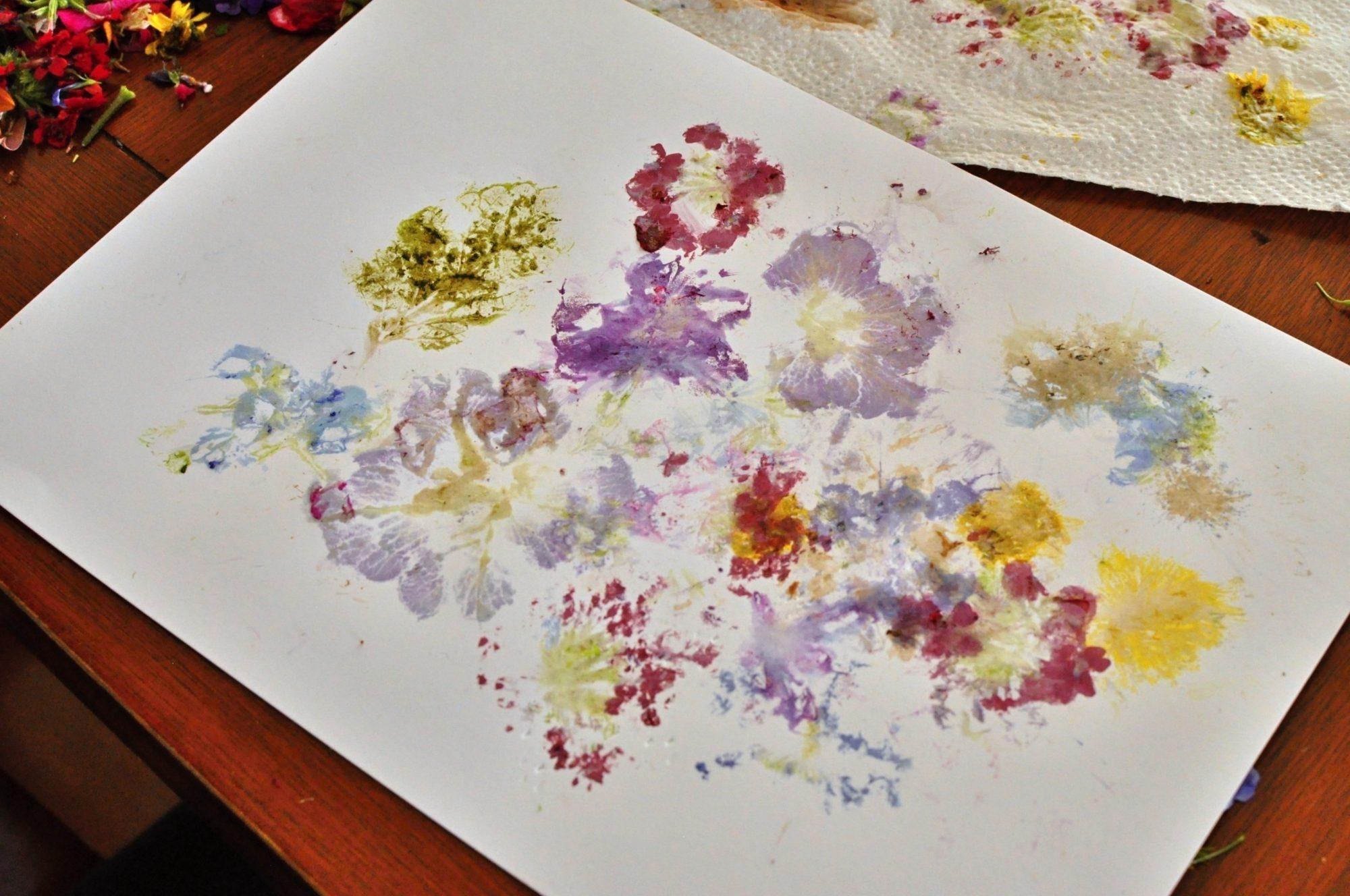 Kvety a kladivo. Tvorenie pre energické deti