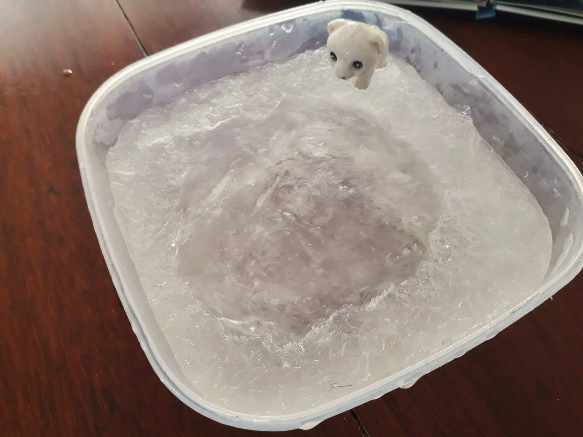 o neposlušnom ľadovom medvedíkovi