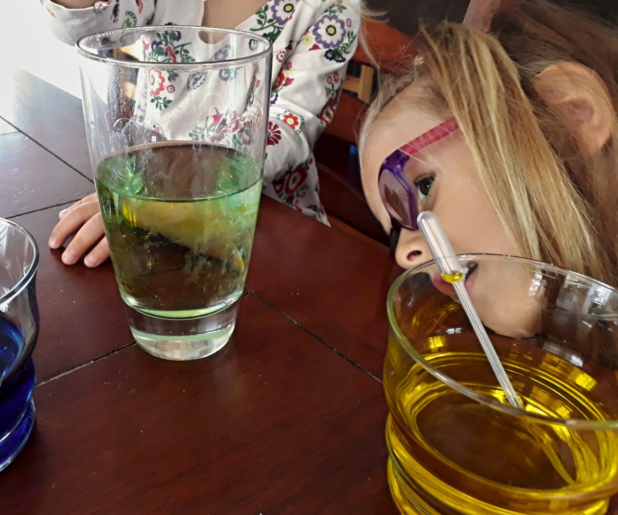 olej s vodou