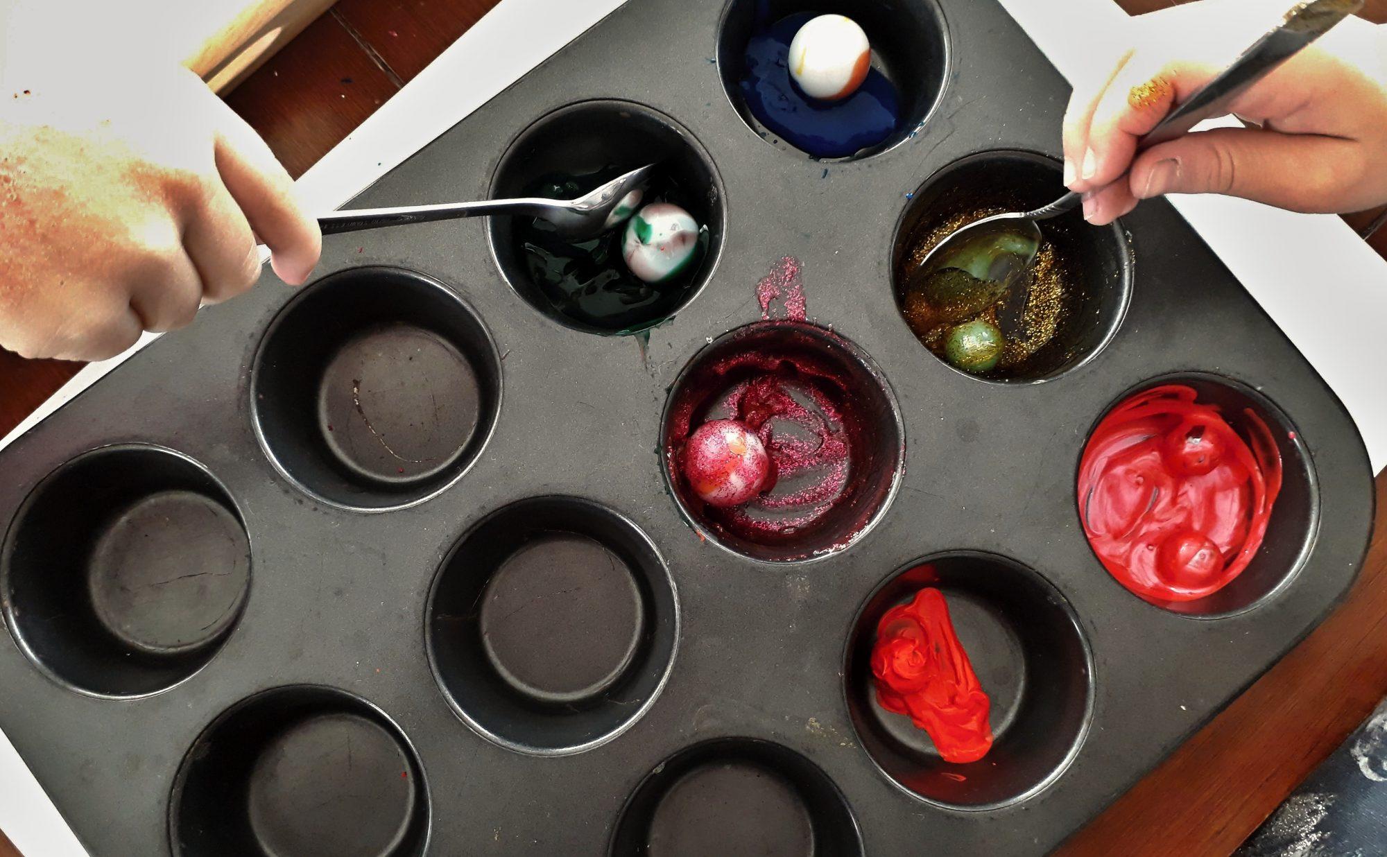 maľovanie guľôčkami