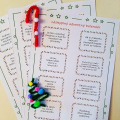 Láskavý adventný kalendár