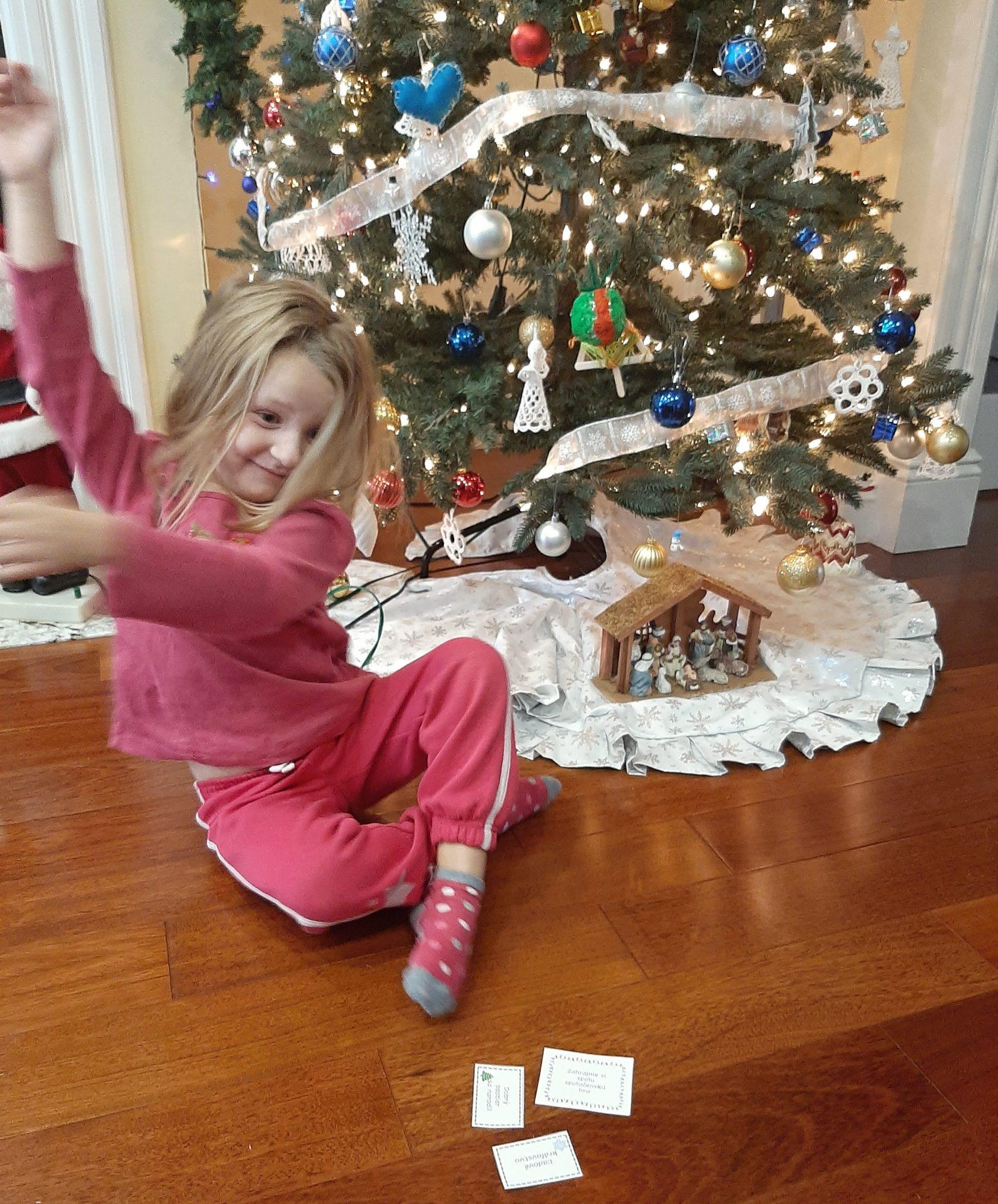 vianočné šarády