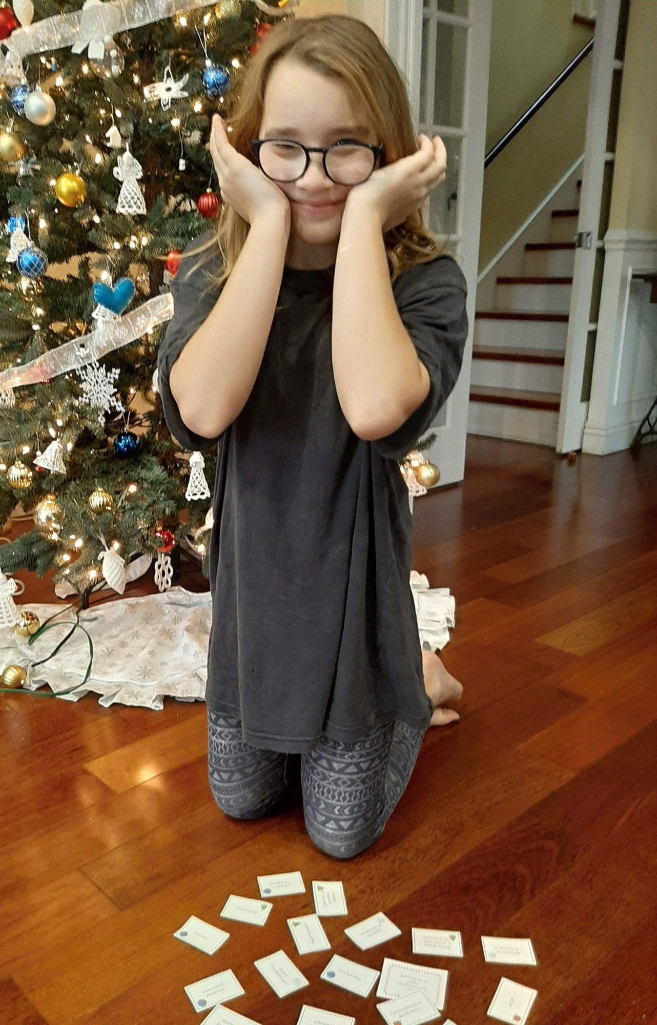 vianočná hra, vianočné šarády
